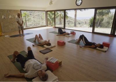 Yoga Gently for beginners upwards