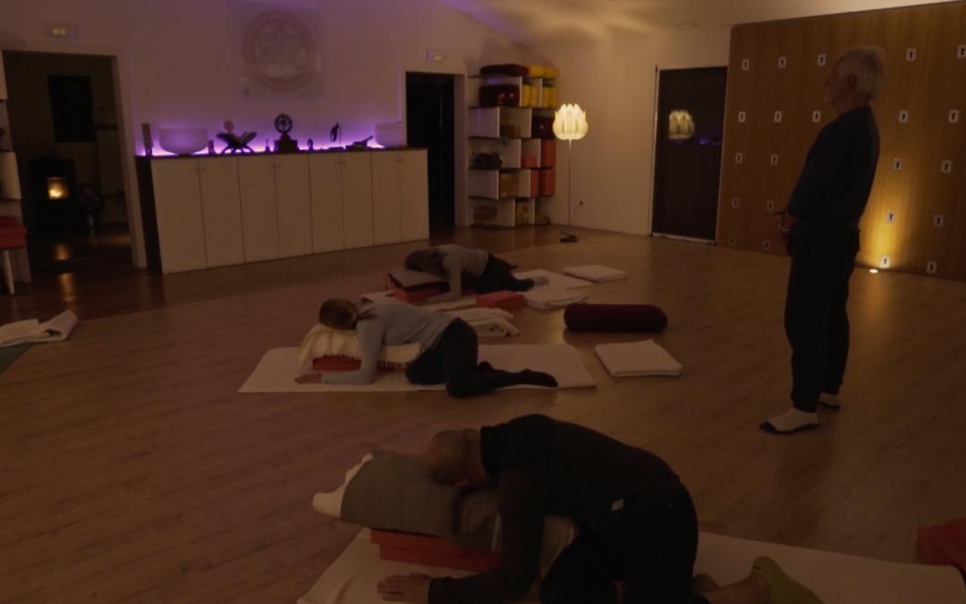 An evening Yin Yoga practice