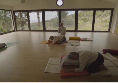 A longer Yin Yoga class